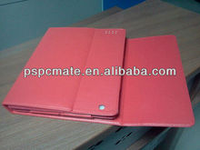 For iPad Case With Keyboard pink Leather