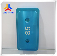 wholesale price 3D Sublimation tool/mould/jig/mold For Samsung S5 phone case
