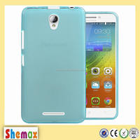 0.33 thickness multi-color tpu clear soft case for lenovo a5000