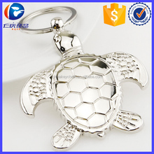 206 HOT New Product Metal Tortoise Keyring