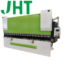 WE67K 160T 3000mm 10feet DA52S aluminum iron plate hydraulic press brake for steel warehouse, cnc metal sheet
