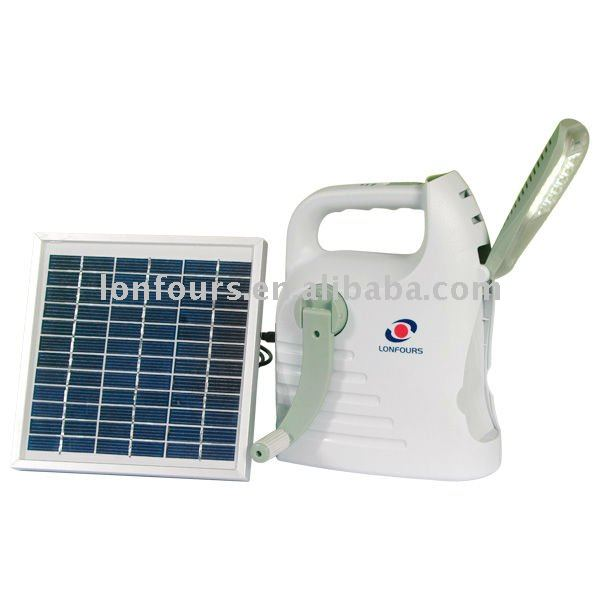 portable solar home light system with LED 24pcs & mobile phone charger
