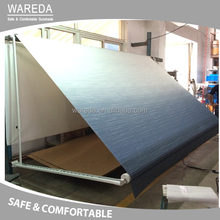 Sunshade awning awning with steel hand crank