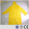 sunnyhope hot sale glossy surface pvc womens yellow raincoat