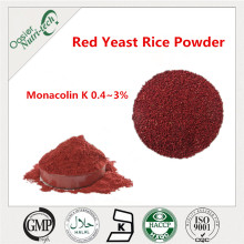 Natural red yeast coffee for lowering blood pressure