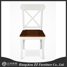 France Solid wood simple design modern dining chair