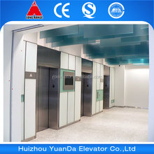 Hairline/etcing/mirror stainless steel elevator for passenger