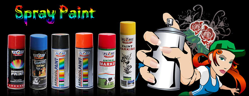 Waterproof Wood Aerosol Acrylic Spray Paint