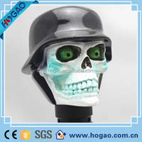 resin skull head for car gear shift knob
