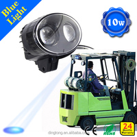 Toptree 10w 9-80V yale safety lamps forklifts forklift working signal light, Excavator workling lamp