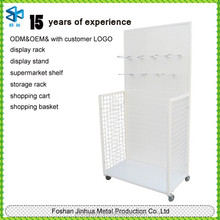 Plastic spray warehouse equipment/ basketball stand/ metal racking storage shelves JH-N-281
