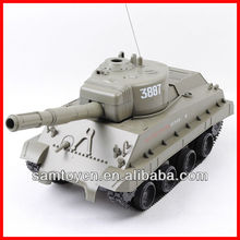 1:30 bullet shooting rc toy army tank
