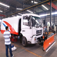 China Dongfeng 4x2 Heavy Duty 10m3 10000 liter Snow Removal Truck for Street Cleaning for sale
