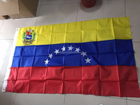 Stock High quality Venezuela 8 Stars Flag Venezuelan national flag