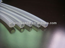 Large diameter medical silicone tube