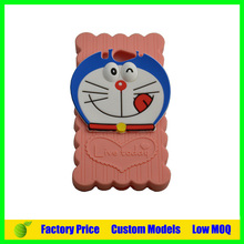 Cute Cartoon Design Silicone Back Cover For LG E455 Optimus L5 II
