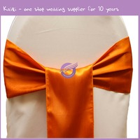 20821 At Weddings Mr And Mrs Bride And Groom Burnt Orange Chair Covers Bows With Sashes