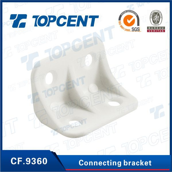 Plastic furniture corner metal angle brackets