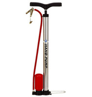 High pressure cast iron hand pump with curved handle