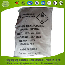 Dry purity 99% min sodium silicofluoride