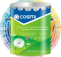 wholesale emulsion/latex house paint waterproof wall paint