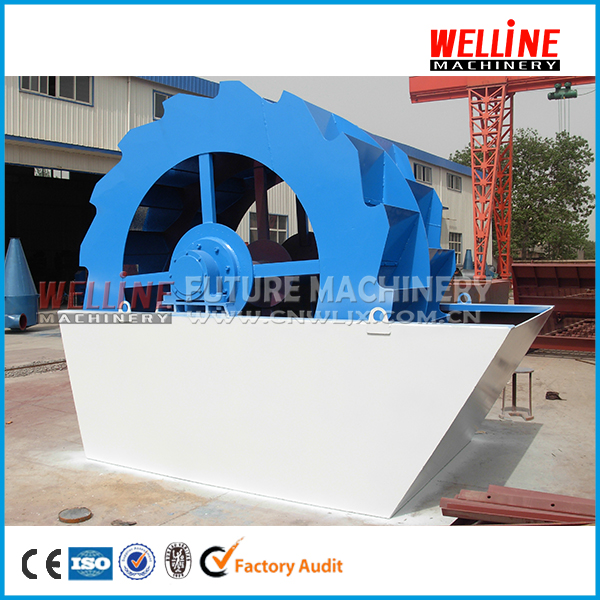 natural sand washing plant/ artificial sand washer/river stone sand washing machine