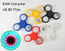 Led Flash Light Hot Selling Products High Quality With Abs Bearing Light Hand Spinner Cheap Price Atv Fashion Toys