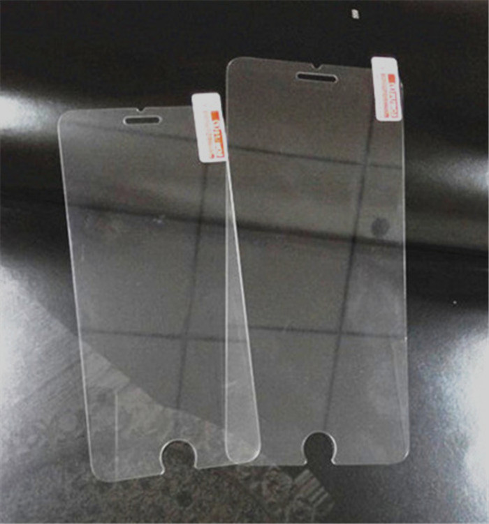 For iphone5 transparent Tempered Glass Screen Protector Protective Film on Iphone5