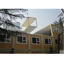 High Quality Steel Structure Solar Prefabricated Container House