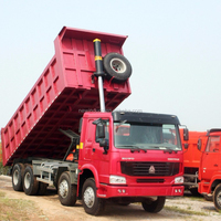 Mine used 70 Tons(GW) Mining Tipper 6x4, howo dump truck price