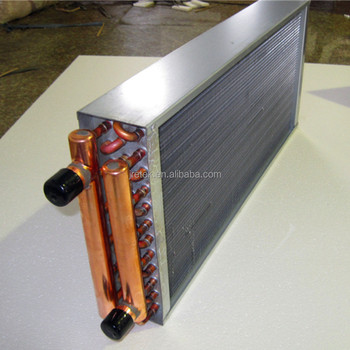 water to air heat exchanger radiator hot water coils