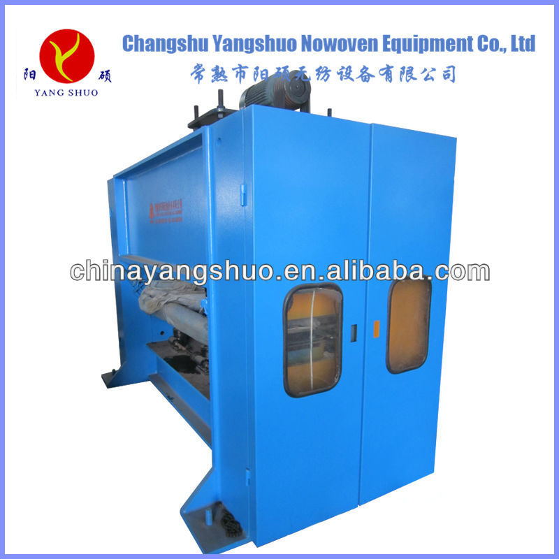 nonwoven carpet needle punch machine