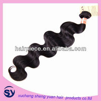 5a grade 100% human virgin peruvian hair/hot beauty 100% human unprocessed virgin brazilian hair extension