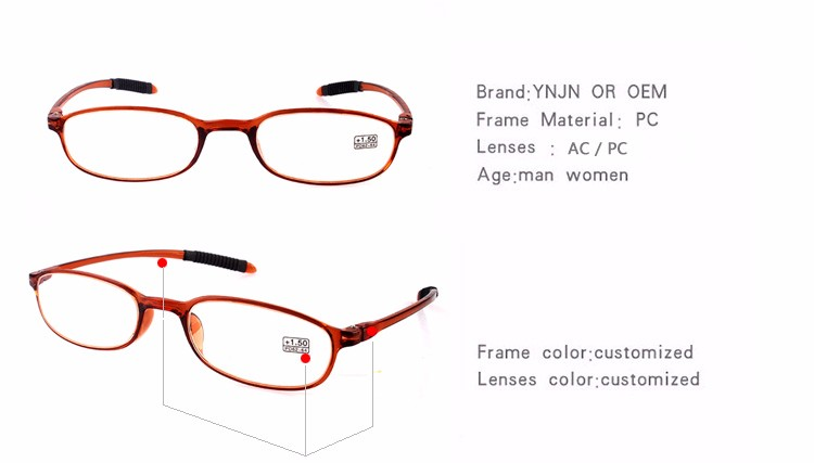 China taihzou YNJN women super thin style men computer ce cheap prices fancy reading glasses