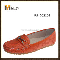 Minyo Latest stylish design moccasin women shoes