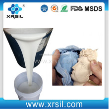 RTV2 liquid silicone rubber to make mold for cement sculptures