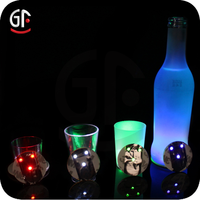 New Products 2015 Event Decorating Materials Glow Up Bottle Coaster