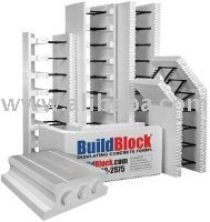 Icf buildblock insulating concrete form eps and plastic for Buildblock pricing