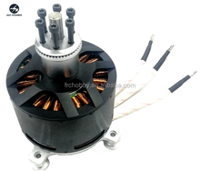 2017 Venta caliente 25KW 120100 KV80 outrunner brushless motor eléctrico para paramotores y eléctrica go-karts