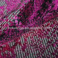 wholesale sequin embroidery velvet fabric