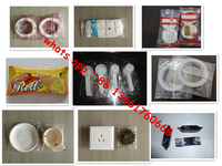 Hot selling low price horizontal flow packing machine for wet towel/tableware