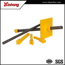 high stability r32 self drilling injection soil nailing in anchor system