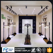Wooden Retail Clothing Display Racks For Clothes Shop Decoration