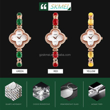 Hot Selling New Design Fashion Brand diamond Vogue Custom Wholesale Ladies Luxury shell Face Wrist Watch #1194
