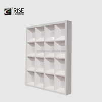 RGB 36w RGB colorful changeable 300*1200 mm LED panel light for commercial light 2017 China factory for distributor