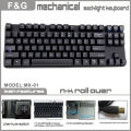 87keys Compact size mechanical keyboard