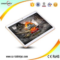 3G 10 inch IPS Screen Android OS 4.4 3G Phone Call Tablet PC MT6582 Quad Core