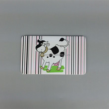 A5 food grade dairy cattle melamine bread professional cutting boards for kids