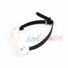 Smspade Silicone Horse Mouth Gag Adjustable Strap Bit Gag For Adult Sex Toys