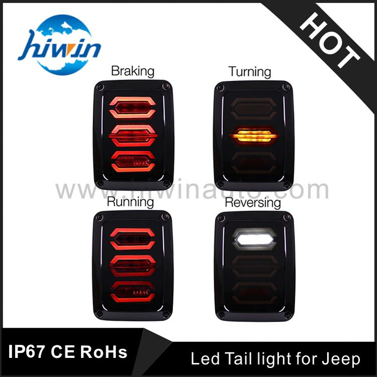 Fashionable led tail light bar for 07-16year jeep